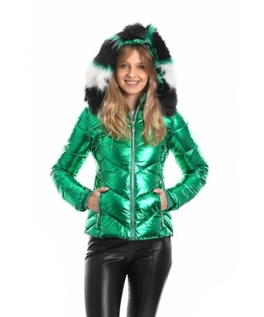 Geaca De Dama Luciar Verde - Trendmall.ro