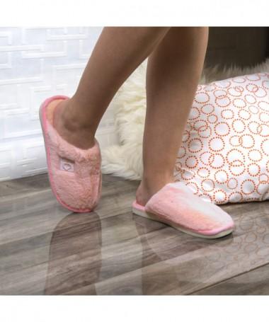 Papuci De Casa Samma Roz - Trendmall.ro