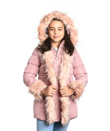 Geaca De Copii Diven Roz - Trendmall.ro