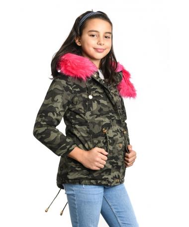 Geaca De Copii Armi Fuchsia - Trendmall.ro