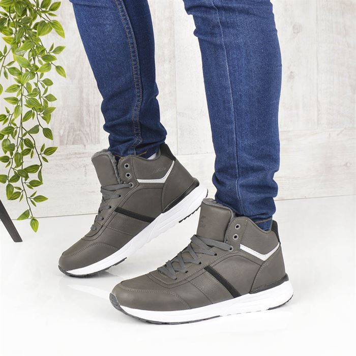 Pantofi Sport Imblaniti De Barbati Iust Gri - Trendmall.ro