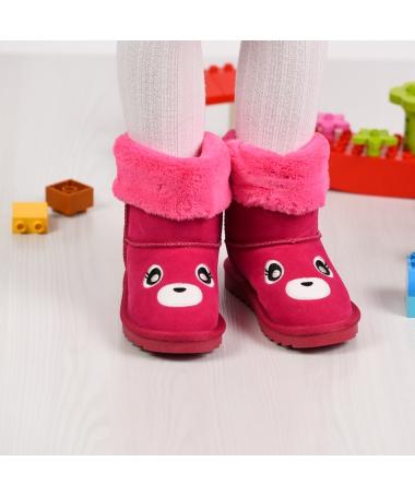 Cizme De Copii Bear Fuchsia - Trendmall.ro