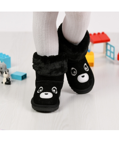 Cizme De Copii Bear Negre - Trendmall.ro