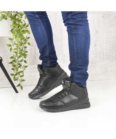 Pantofi Sport Imblaniti De Barbati Agon Negri - Trendmall.ro