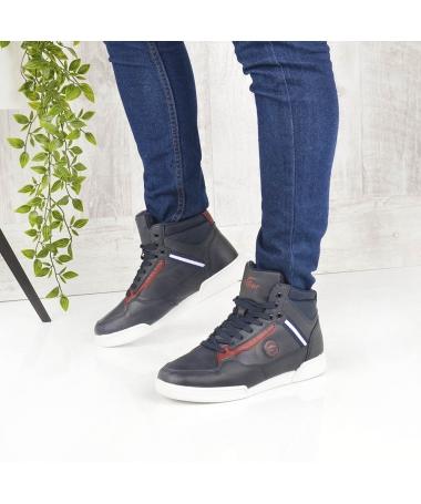 Pantofi Sport Imblaniti De Barbati Greni Albastru Inchis - Trendmall.ro