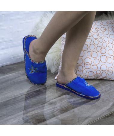 Papuci De Casa Sapal Albastrii - Trendmall.ro