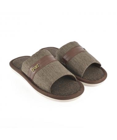 Papuci De Casa De Barbati Seon Maro - Trendmall.ro