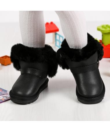 Cizme De Copii Sering Negre - Trendmall.ro
