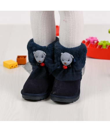 Cizme De Copii Forten Albastru Inchis - Trendmall.ro