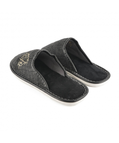 Papuci De Casa De Barbati Greg Negri - Trendmall.ro
