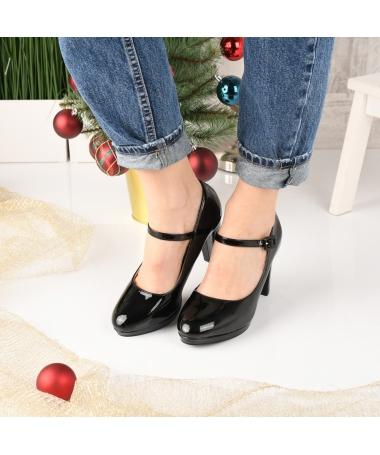 Pantofi De Dama Sareni Negri - Trendmall.ro