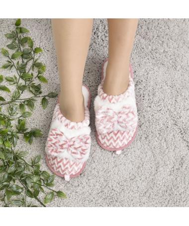 Papuci De Casa De Dama Ten Sor Roz - Trendmall.ro