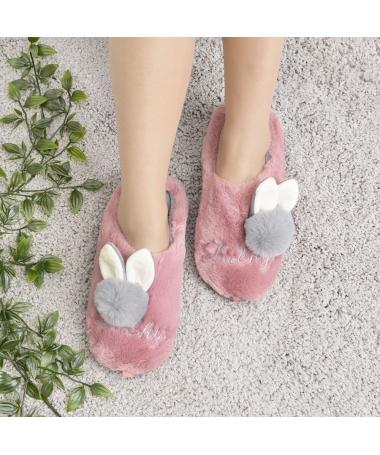 Papuci De Casa De Dama Flon Piersica - Trendmall.ro