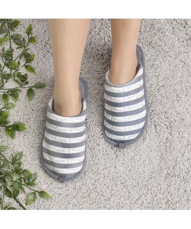 Papuci De Casa De Dama Dungo Gri - Trendmall.ro