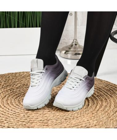 Pantofi Sport De Dama Umbren Gri - Trendmall.ro