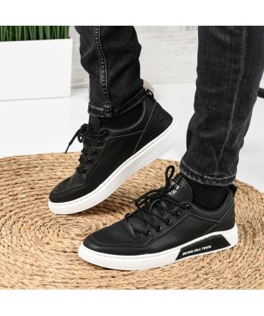 Pantofi Sport De Barbati Deniz Negri - Trendmall.ro