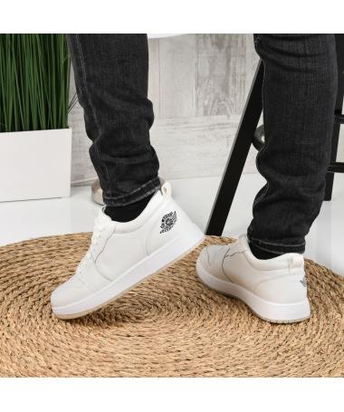 Pantofi Sport De Barbati Sort Albi - Trendmall.ro