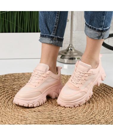 Pantofi Sport De Dama Dentin Roz - Trendmall.ro