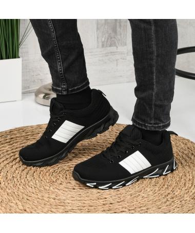 Pantofi Sport De Barbati Oblivio Negri - Trendmall.ro