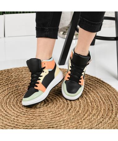 Pantofi Sport De Dama Oparis Negri - Trendmall.ro