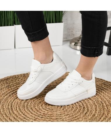 Pantofi Sport De Dama Atar Albi - Trendmall.ro