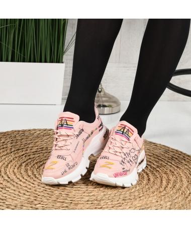 Pantofi Sport De Dama Reli Roz - Trendmall.ro