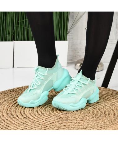 Pantofi Sport De Dama Olarium Verzi - Trendmall.ro