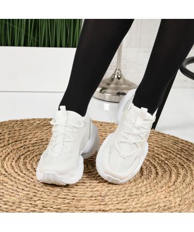 Pantofi Sport De Dama Olarium Albi - Trendmall.ro