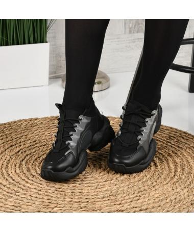 Pantofi Sport De Dama Olarium Negri - Trendmall.ro