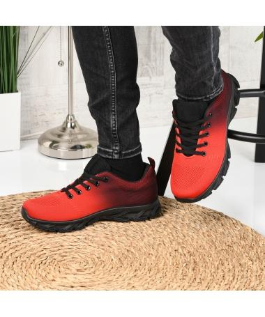 Pantofi Sport De Barbati Rebin Rosii - Trendmall.ro