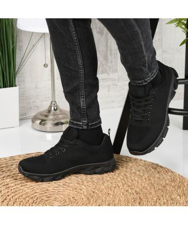 Pantofi Sport De Barbati Rebin Negri - Trendmall.ro