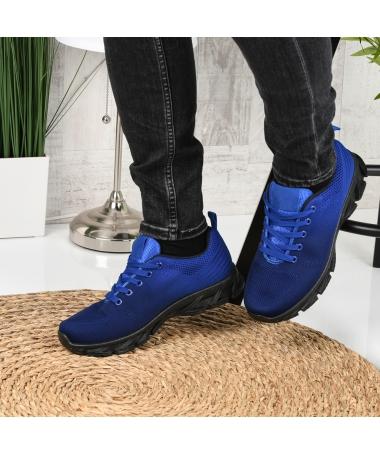 Pantofi Sport De Barbati Rebin Albastri - Trendmall.ro