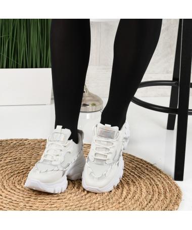 Pantofi Sport De Dama Enerve Albi - Trendmall.ro