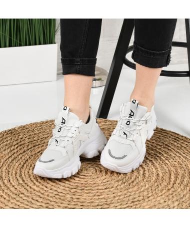 Pantofi Sport De Dama Veleti Albi - Trendmall.ro