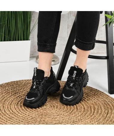 Pantofi Sport De Dama Veleti Negri - Trendmall.ro