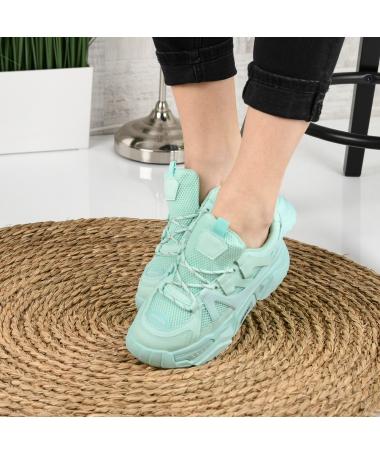 Pantofi Sport De Dama Suter Verzi - Trendmall.ro