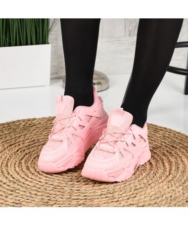 Pantofi Sport De Dama Suter Roz - Trendmall.ro
