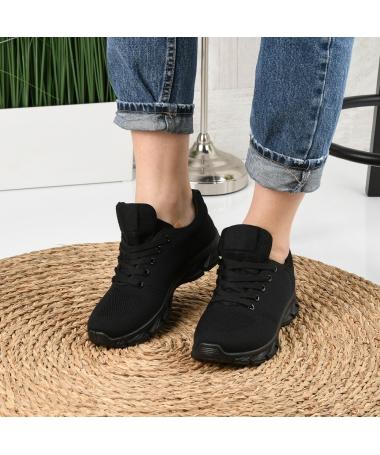 Pantofi Sport De Dama Rebin Negri - Trendmall.ro