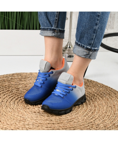 Pantofi Sport De Dama Rebin Albastri - Trendmall.ro