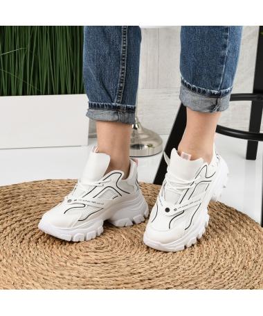 Pantofi Sport De Dama Venor Albi - Trendmall.ro