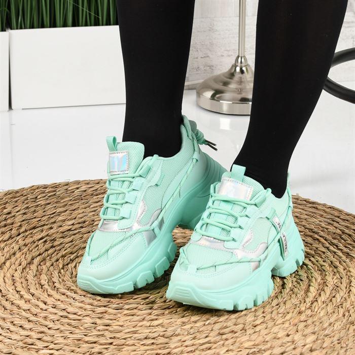 Pantofi Sport De Dama Maian Verzi - Trendmall.ro