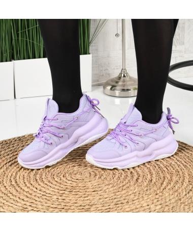 Pantofi Sport De Dama Zaren Mov - Trendmall.ro