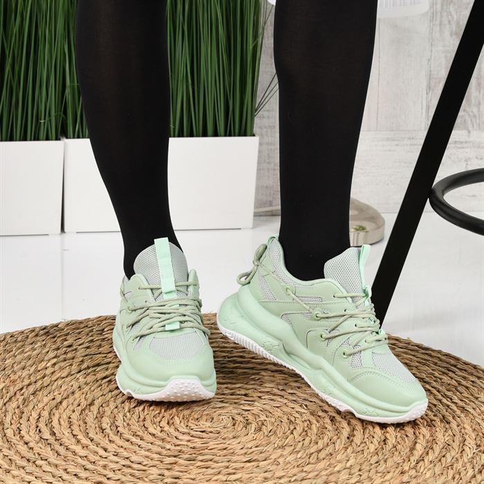 Pantofi Sport De Dama Zaren Verzi - Trendmall.ro