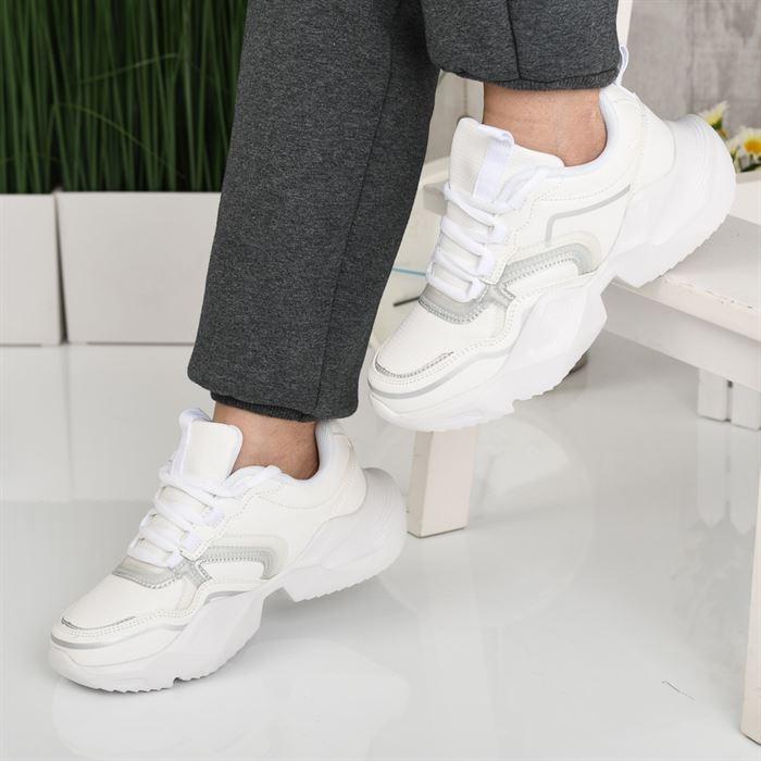 Pantofi Sport De Dama Ineris Albi - Trendmall.ro