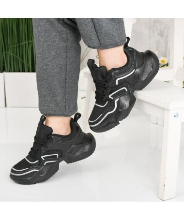 Pantofi Sport De Dama Natin Negri - Trendmall.ro