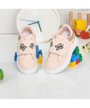 Pantofi Sport De Copii Flutures Roz - Trendmall.ro