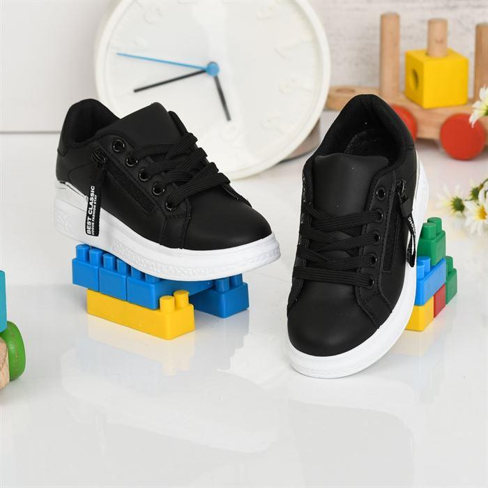Pantofi Sport De Copii Clasicani Negri - Trendmall.ro