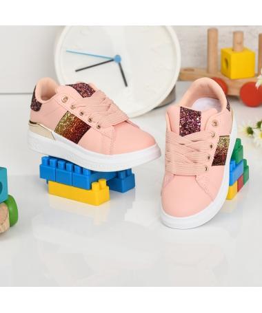 Pantofi Sport De Copii Aselin Roz - Trendmall.ro