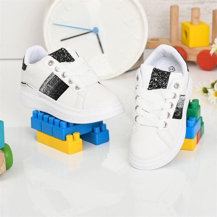 Pantofi Sport De Copii Aselin Albi - Trendmall.ro