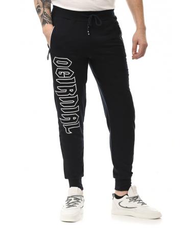 Pantaloni Sport De Barbati Oginal Albastru Inchis - Trendmall.ro
